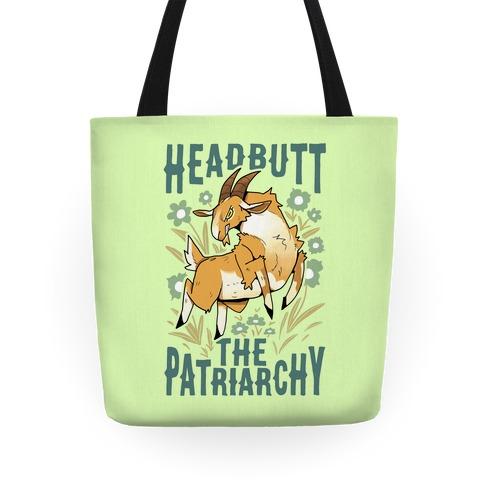 Headbutt The Patriarchy Tote
