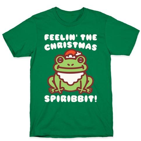 Feelin' The Christmas Spiribbit T-Shirt