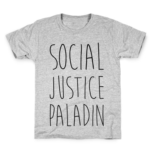Social Justice Paladin Kids T-Shirt