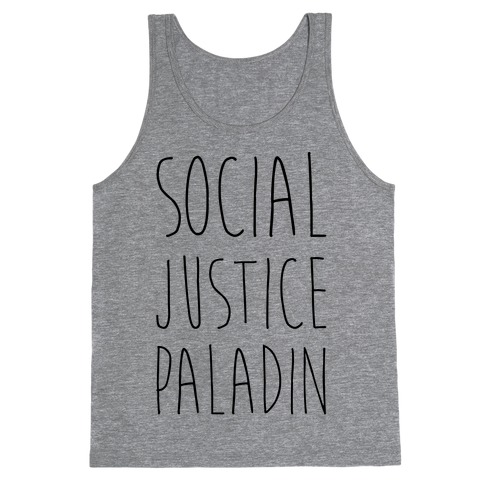 Social Justice Paladin Tank Top