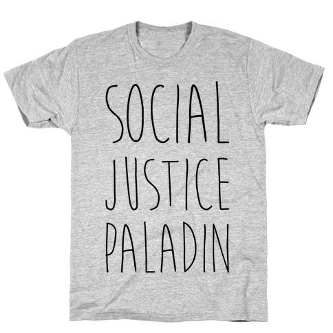 Social Justice Paladin T-Shirt