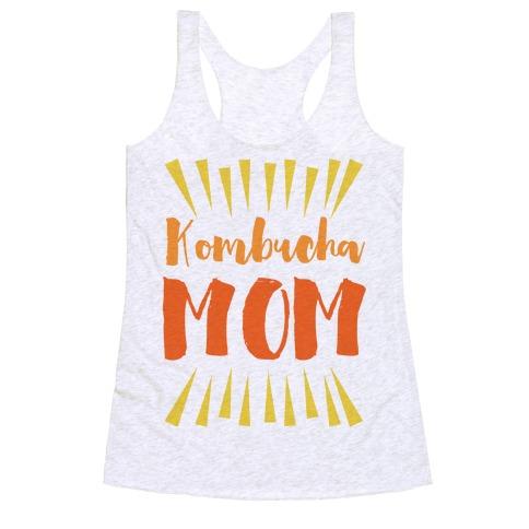 Kombucha Mom Racerback Tank Top