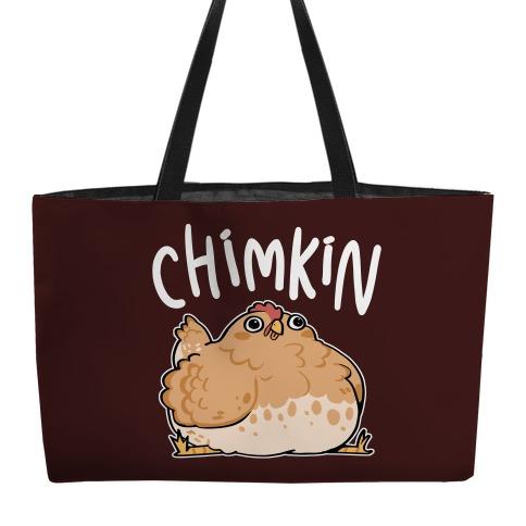 Chimkin Derpy Chicken Weekender Tote