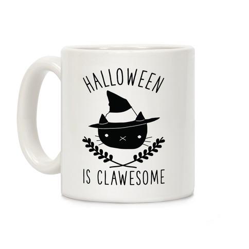 Halloween is Clawesome Coffee Mug