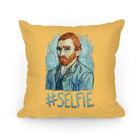 Van Gogh Selfie Pillow