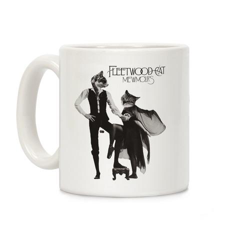 Fleetwood Cat Mewmours Mashup Coffee Mug