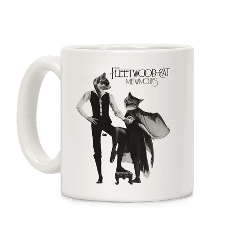 Fleetwood Cat Mewmours Mashup Coffee Mug