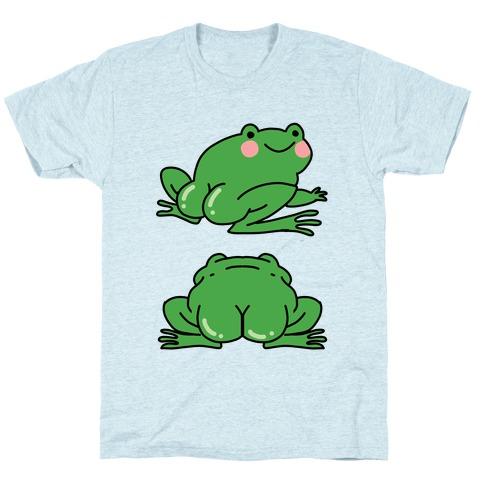 Frog Butt Mens/Unisex T-Shirt