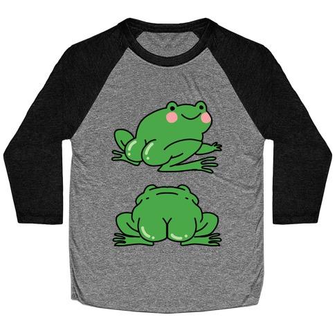 Frog Butt Baseball Tee