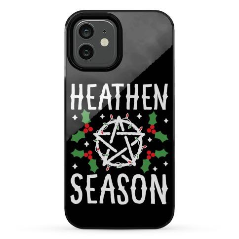 Heathen Season Christmas Phone Case