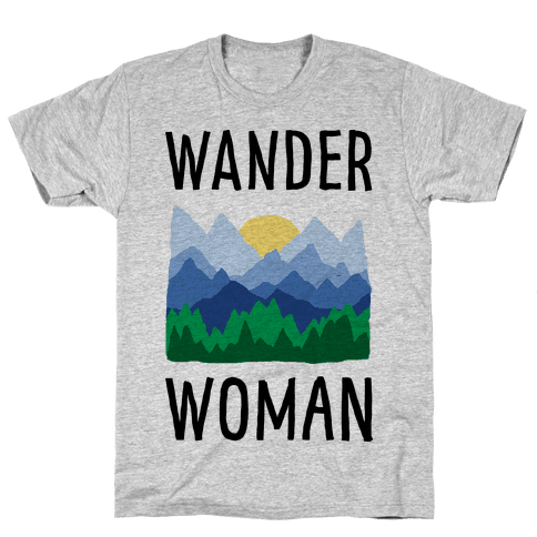 Wander Woman Mens T-Shirt