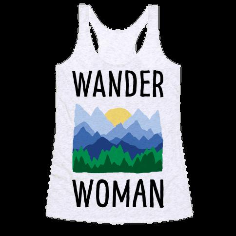 Wander Woman Racerback Tank Top