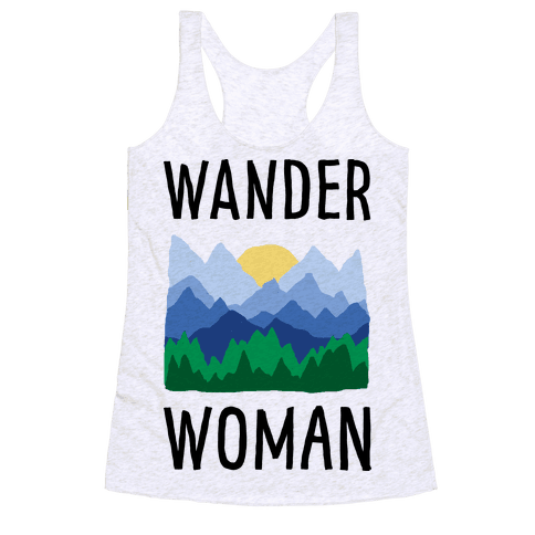 Wander Woman Racerback Tank Top