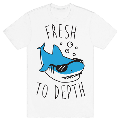Fresh To Depth (CMYK) Mens T-Shirt