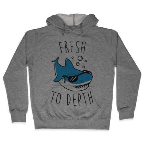 Fresh To Depth (CMYK) Hooded Sweatshirt