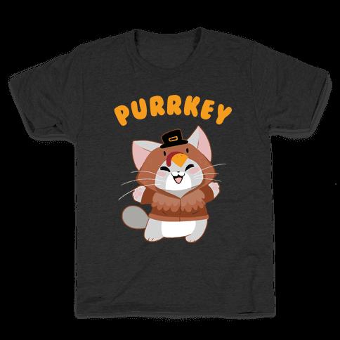 Purrkey Kids T-Shirt