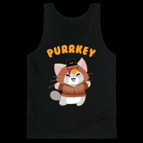 Purrkey Tank Top