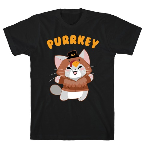 Purrkey Mens T-Shirt