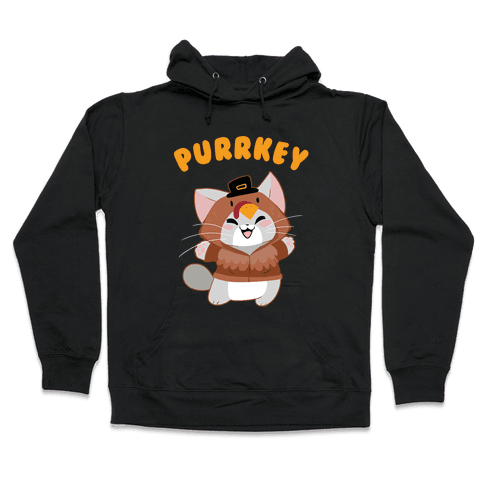 Purrkey Hooded Sweatshirt