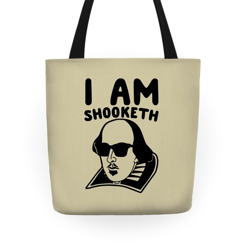 I Am Shooketh Tote