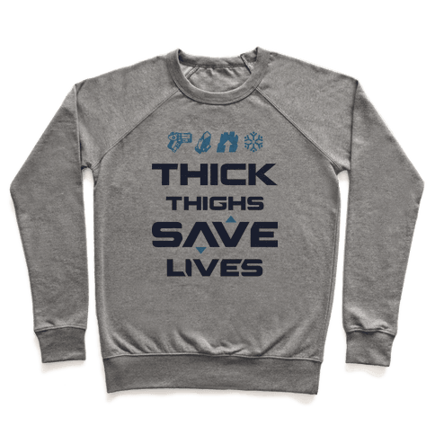 Thick Thighs Saves Lives Mei Pullover