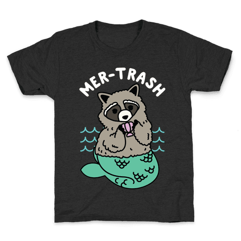 Mer-Trash Raccoon Kids T-Shirt