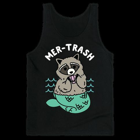 Mer-Trash Raccoon Tank Top