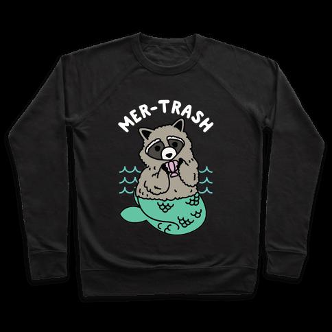 Mer-Trash Raccoon Pullover