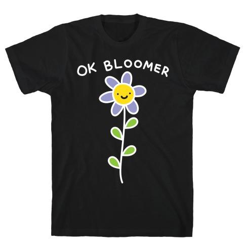 Ok Bloomer Flower T-Shirt