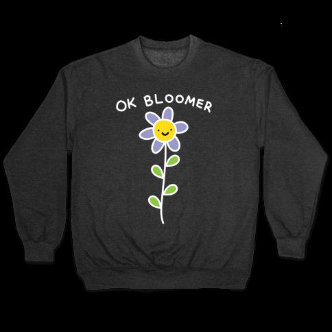 Ok Bloomer Flower Pullover