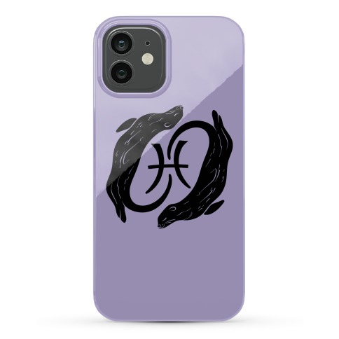 Otterly Emotional Pisces Phone Case