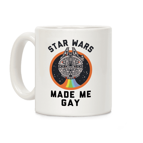Star Wars Made Me Gay Coffee Mug