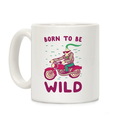 Born to be Wild Onion Coffee Mug