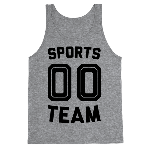 Sports 00 Team Tank Top