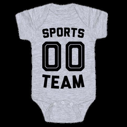 Sports 00 Team Baby Onesy
