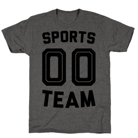 Sports 00 Team Mens T-Shirt