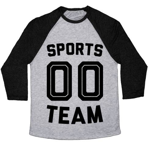Sports 00 Team Baseball Tee