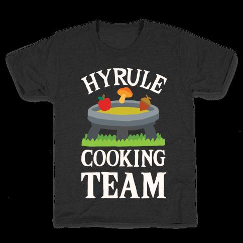Hyrule Cooking Team Kids T-Shirt