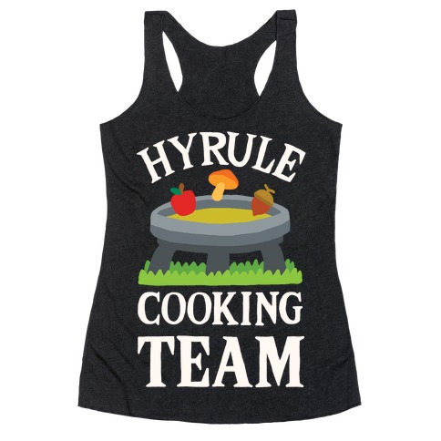 Hyrule Cooking Team Racerback Tank Top