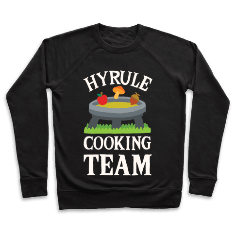 Hyrule Cooking Team Pullover