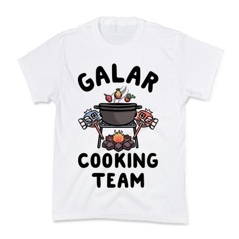 Galar Cooking Team Kids T-Shirt