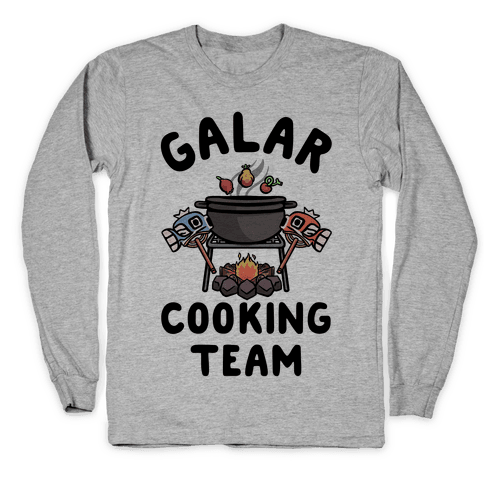 Galar Cooking Team Long Sleeve T-Shirt