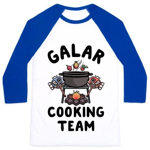 Galar Cooking Team Baseball Tee