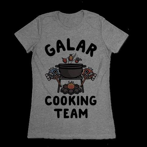 Galar Cooking Team Womens T-Shirt