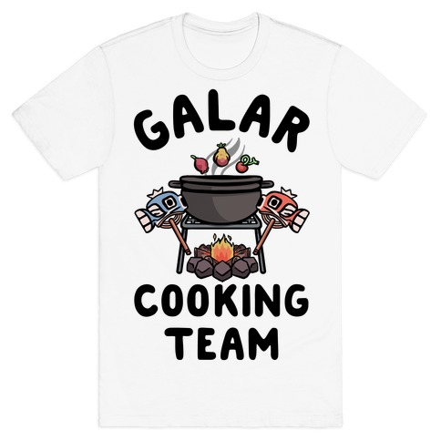 Galar Cooking Team T-Shirt