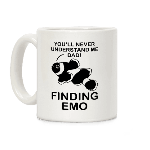 Finding Emo Coffee Mug