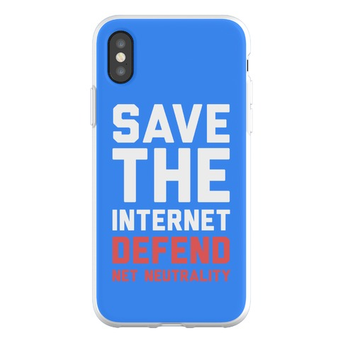 Save The Internet Defend Net Neutrality Phone Flexi-Case