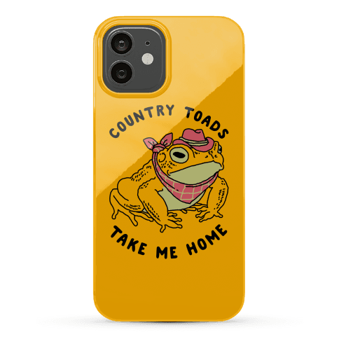 Country Toads Take Me Home Phone Case