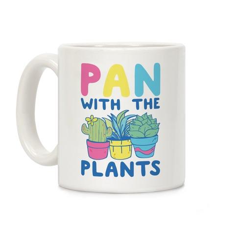 Pan with the Plants Coffee Mug