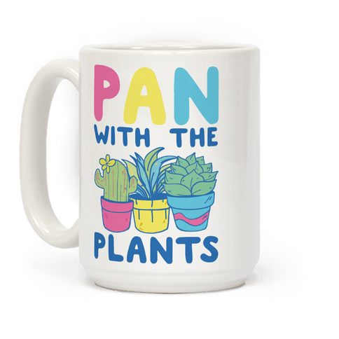 Pan with the Plants Coffee Mug